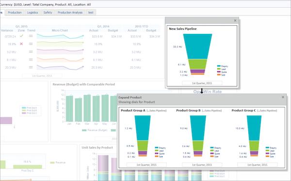 Adaptive Planning Build KPI dashboards