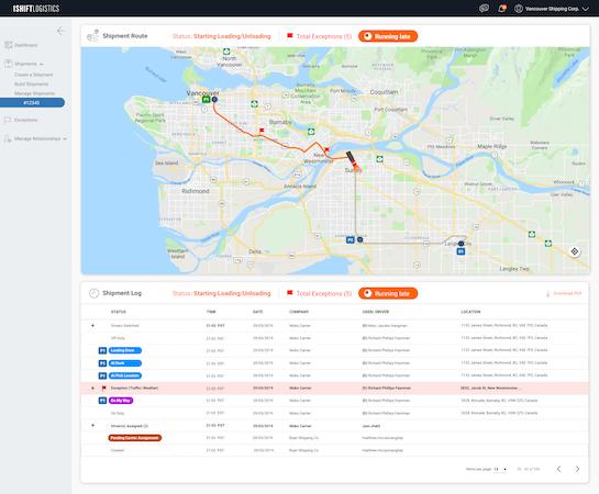 Detailed audit trails stored on Blockchain
