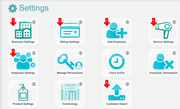 EZsalonware settings management