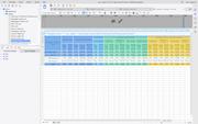 FineReport multiple formats display screenshot