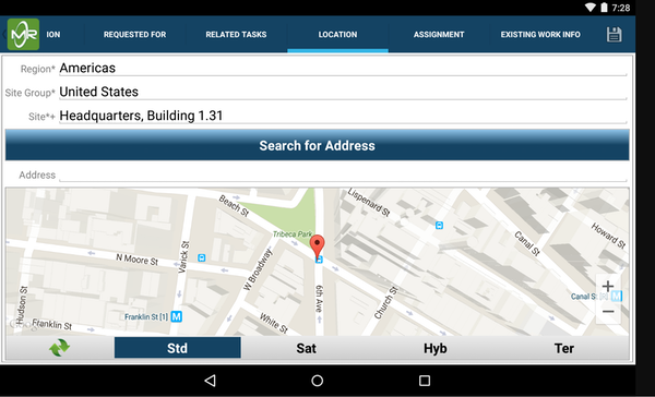 Mobile Reach integrated maps