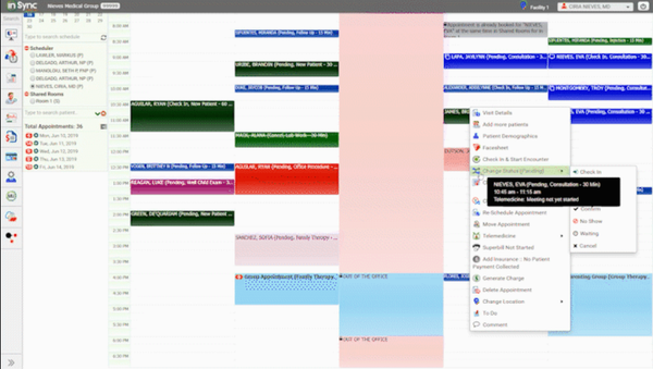 InSync appointment scheduling