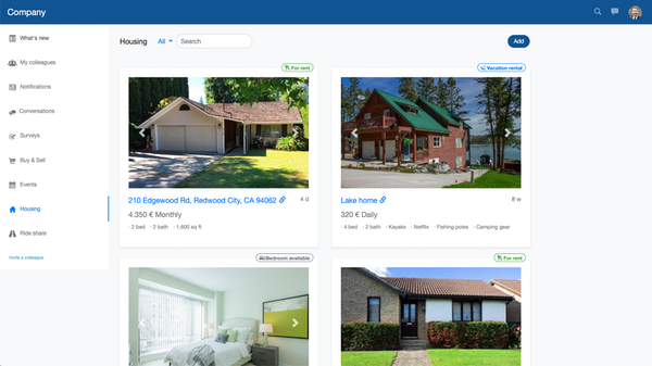 OfficeAccord housing screenshot