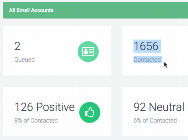 Wavo all email accounts screenshot