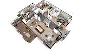 Cedreo 2D Floor Plan