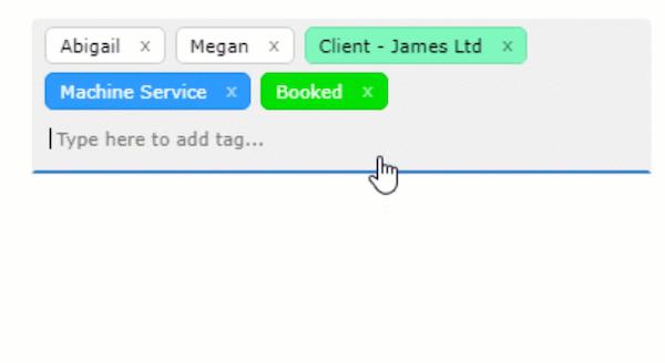 Schedule It tagging screenshot