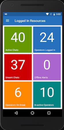 WebGreeter logged in resources screenshot
