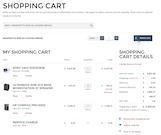 Sana Shopping Cart