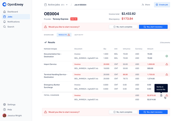 Invoice Conflict Review