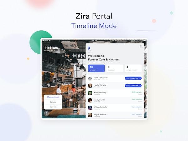 Zira Portal Dashboard