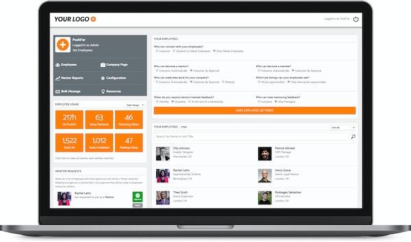 PushFar employee settings screenshot