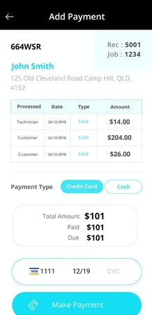 Adding payments