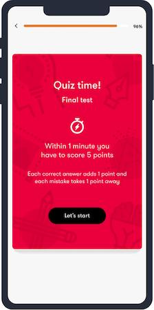 Quiz Start Screen