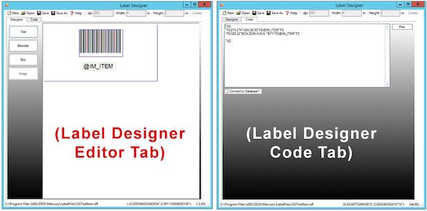 Label Designer App