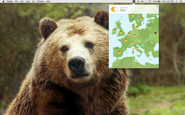 Tunnelbear for Mac