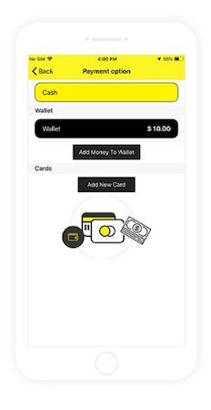 VivoCabs Payment Options