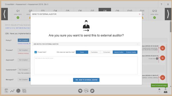 Internal Auditor Workflow
