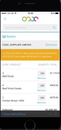 Fourth supplier information screenshot