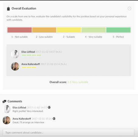 Happo evaluation screenshot