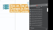 eFileCabinet - Activity Center