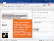 Qorus Document Generation saving reusable content screenshot