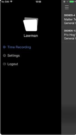 Lawman time recording