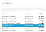 Basis reports