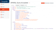 GraphDB query and update