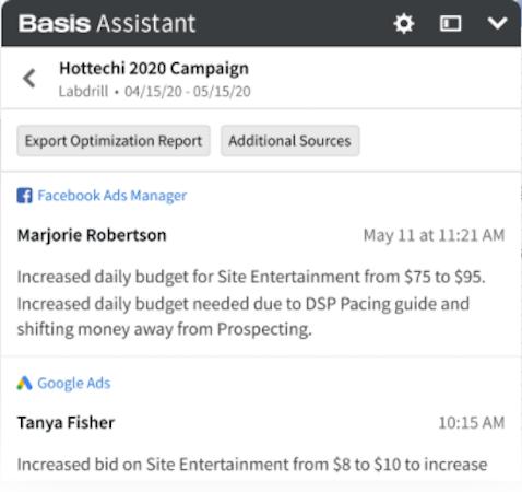 Basis campaign management