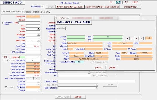 abcoa Deal Pack import customer