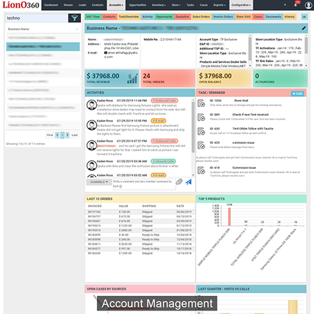 Account Management Overview