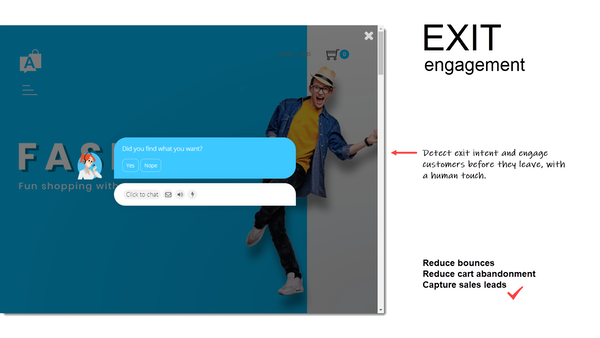 Acobot Exit Engagement