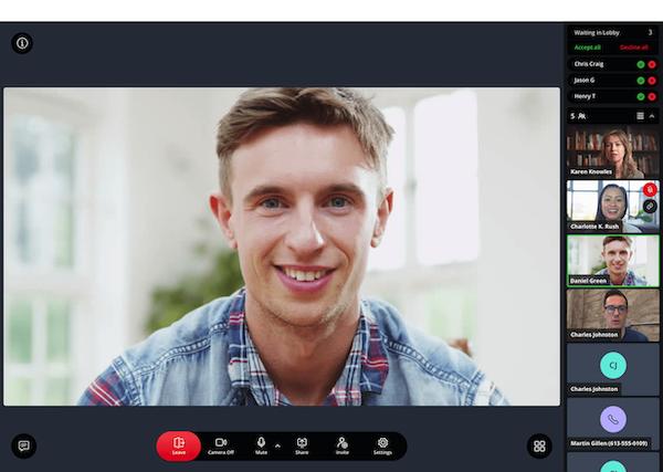 MiTeam Meetings video conferencing