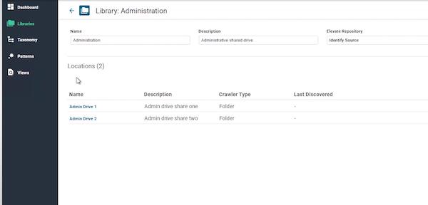 Adlib library administration