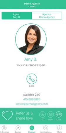 Agentero contact agent