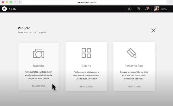Alboom Prosite publish websites