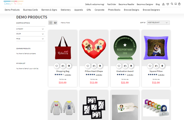 All-In-One-Designer product page