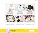 All-In-One-Designer store interface