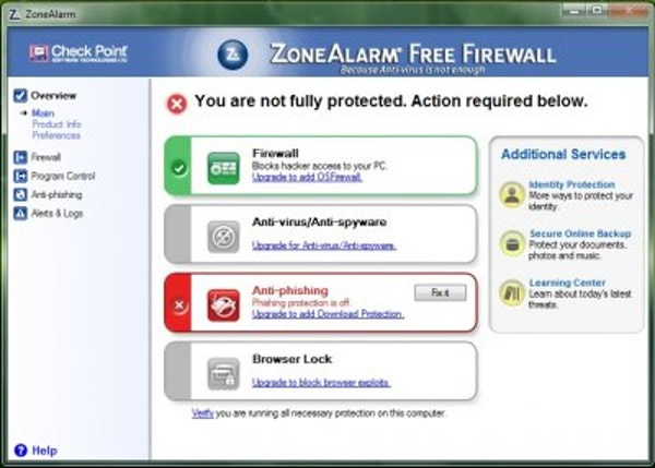 Anti-phishing protection