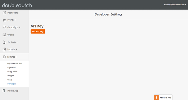 API key integration