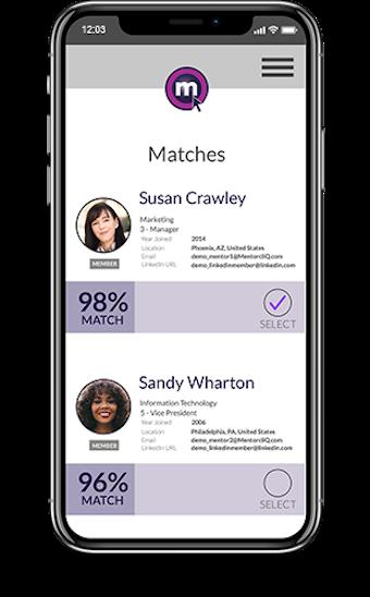 Mobile App: Matching