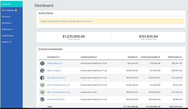 AppFolio Investment Management investor portal