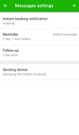Appointfix message settings