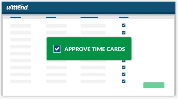 uAttend - Approval time card