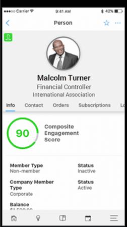 Aptify member profile