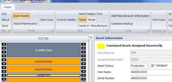 Asset Vue Corrections Management