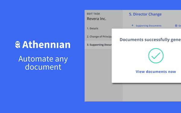 Athennian Document Automation
