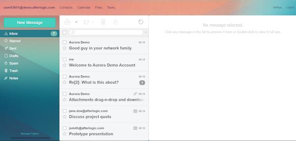 Aurora emails