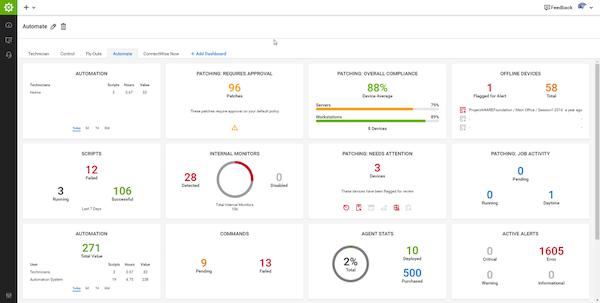 ConnectWise Automate automation management