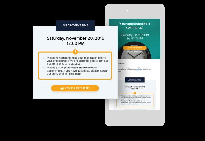 Demandforce - Demandforce automated appointment reminders